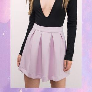 Lavender Scuba Skirt